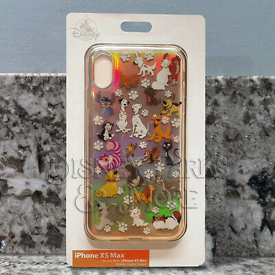 Disney Parks Cats and Dogs of Disney Films Holographic iPhone XS Max Phone Case