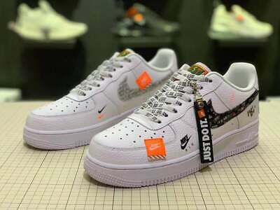 2019NIKE AIR FORCE 1 '07 Just Do It Turnschuhe