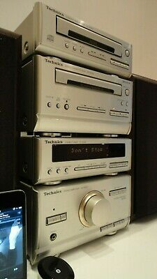 Technics SC-HD301 HiFi Component System CD Tape Tuner Amp +Bluetooth