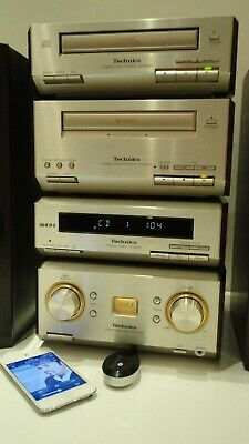 Technics SC-HD550 HiFi Component System CD,Tape Tuner Amp + Bluetooth Adaptor 2