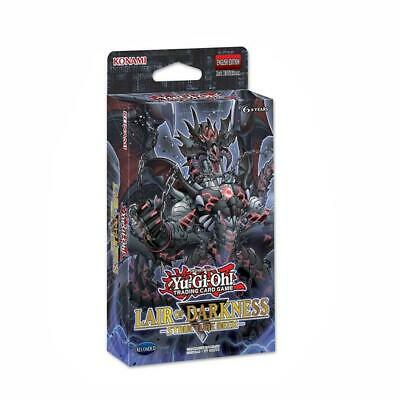 43pcs TCG Lair of Darkness English Card for YuGiOh Decks Board Playing Game Gift