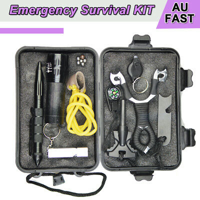Emergency Survival Equipment Outdoor Sports Tactical Hiking Camping Tool Set 2X