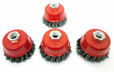 Wire Cup Brush Wheel 3 Inch 75mm Angle Grinder Twist Knot Brushes WB001