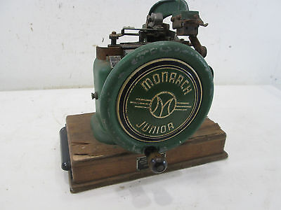 Vintage Monarch Jr. Cast Iron Label Maker Model J