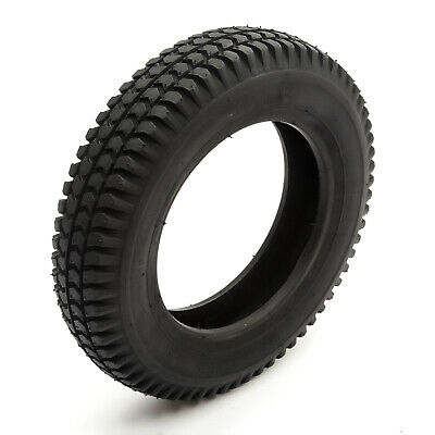 Tyre 3.00-8 Black Knobbly Block Tread Mobility Scooter 8 Inch Wheel Rim 4 Ply