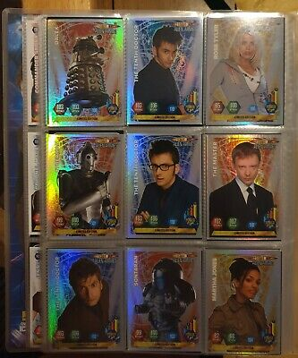 Doctor Who Alien Armies Binder & All 260 Cards & 10 Limited Edition Cards New