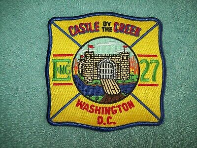 District Of Columbia Fire Department Patch -  Engine 27  -  Washington Dc