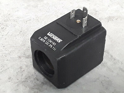 Eaton Vickers CETOP 3 Ng6 Hydraulic Solenoid Coil 0.80A DC 29.1 Ohm 02-124193 *