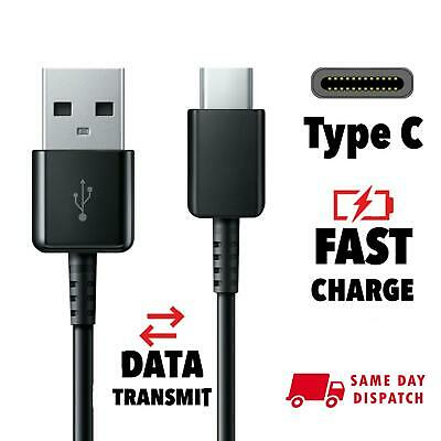 For Samsung Galaxy S8 / S9+ Plus Type C USB-C Sync Fast Charger Charging Cable