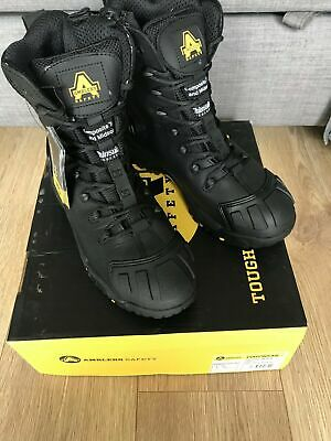 Black 200g thinsulate lining Amblers FS999 S3 WP HRO+W//P+SRC Safety Boots
