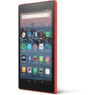 Amazon Fire HD 8 (8th Generation) 16GB Quad-Core Wifi 8in Tablet Red - NEW