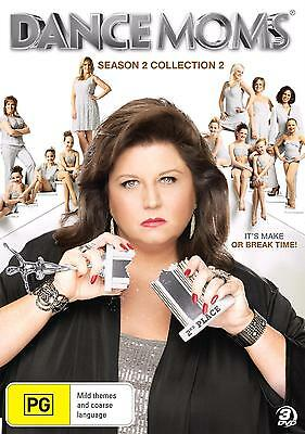 DANCE MOMS - SEASON 2 COLLECTION 2   -  DVD - UK Compatible - New & sealed
