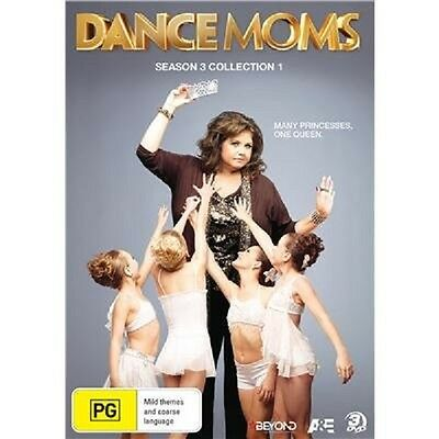 DANCE MOMS - SEASON 3 COLLECTION 1   -  DVD - UK Compatible - New & sealed