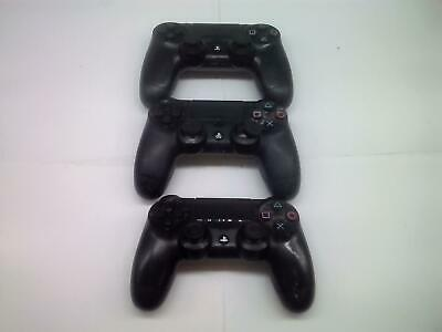 3 Pz Sony PLAYSTATION 4 PS4 Dualshock 4 Wireless Controller Difettoso, Non