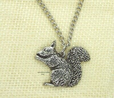 Small Bear Pendant with Chain Necklace in Gift Pouch Pewter, Made in UK