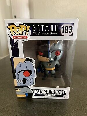 Funko Pop Heroes Batman Animated Series Batman (Robot) #193 New Vinyl Figure