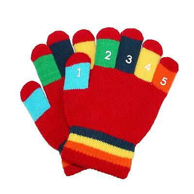 New Grand Sierra Toddler 2-4T Knit Stretch Counting Gloves