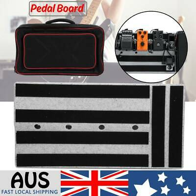Electric Guitar Effect Pedal Board Pedalboard Storage Bag Accessories Portable