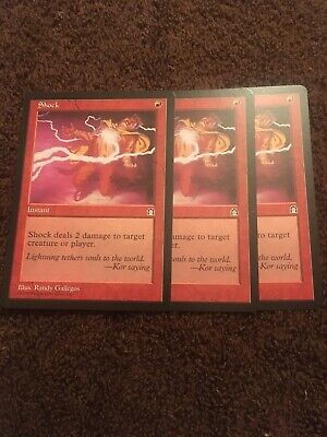 4 Mob Justice ~ Red Stronghold Mtg Magic Common 4x x4