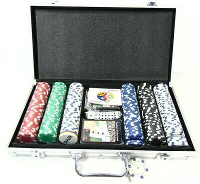 Cardinal's Professional Texas Hold'em Tournament  Poker 300 Pieces Aluminum Case