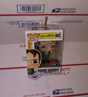 Funko Pop The Office: Dwight Schrute #882. Nycc 19 Shared Exclusive. Preorder.