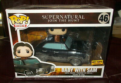 Funko Pop! RIDES: SUPERNATURAL JOIN THE HUNT:  BABY WITH SAM #46 💥HT EXCLUSIVE