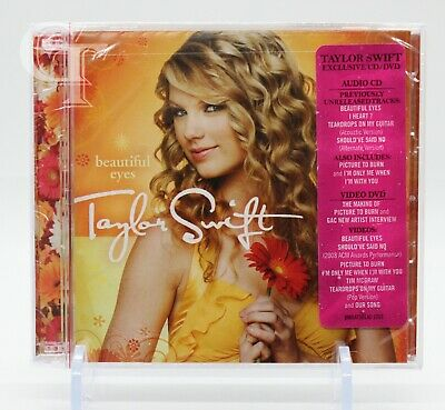 Beautiful Eyes [EP] by Taylor Swift (CD, Jul-2008, 2 Discs, Big Machine Records)