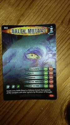 DR WHO INVADER CARD 555 JUDOON FLEET MINT !!