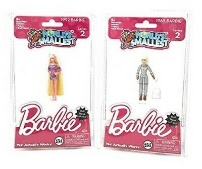 Worlds Smallest Barbie Collectible - Series 2 - Style will vary 1965 or 1992