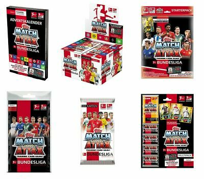 Topps Match Attax 2019/2020 Display Starter Tin Blister Multipack Kalender 19/20