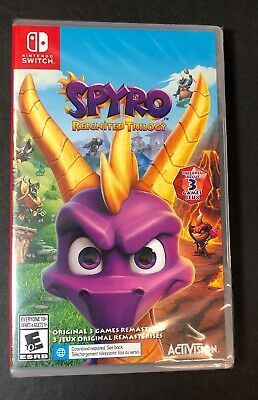 Spyro Reignited Trilogy [ 3 Games Remastered ] (Nintendo Switch) NEW