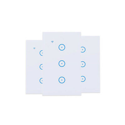 WIFI Smart Wall Light Touch Panel Switch App Timing Socket Alexa Google Home NEW