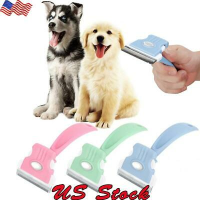 US Professional Pet Cat Dog Hair Clipper Trimmer Shaver Cordless Pet Rake Comb