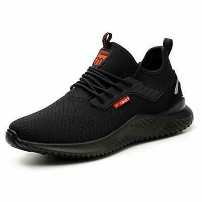UK Safety Shoes for Men Women Steel Toe Trainers Lightweight Work Shoes Sports *
