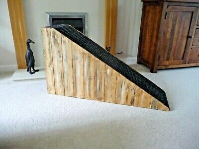 40 cm High Ramp Wooded Sides/ Twist Carpet