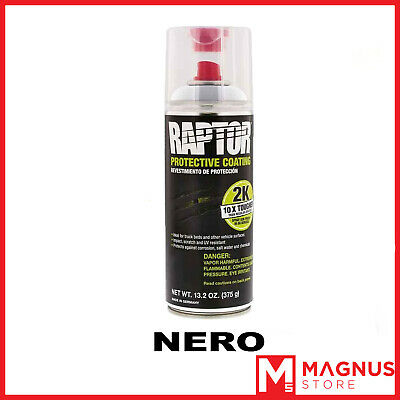 U-Pol Raptor 2K vernice spray 400 ml UPOL - NERO