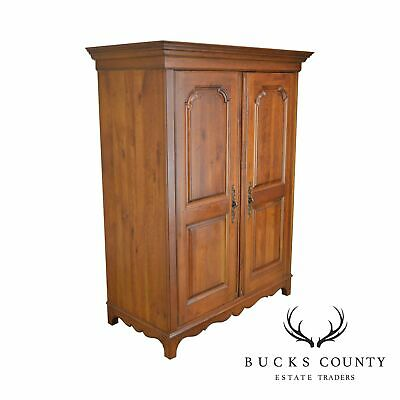 "Ethan Allen ""Maison"" Collection French Country Style Cherry TV Armoire Cabinet"