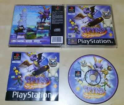 Spyro Year of the Dragon PS1 Playstation 1 PS2 Sony Retro Game Complete