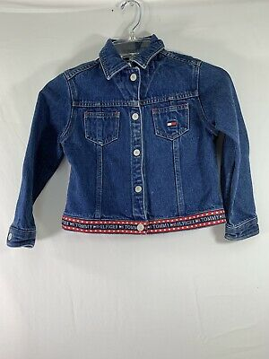 Used Tommy Hilfiger Denim Jean Jacket Kids 5/6