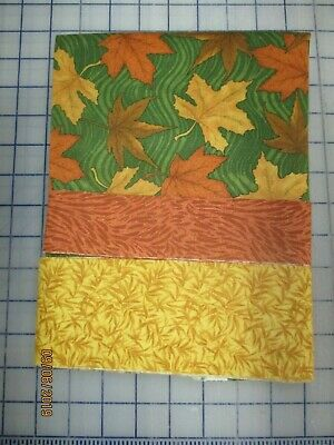 Quilt Kit For 4 Fall Leaves Placemat Kit