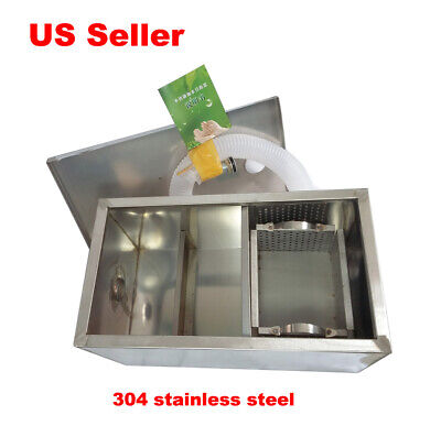 Newly Commercial Grease Traps Kitchen Waste Filter Stainless Steel