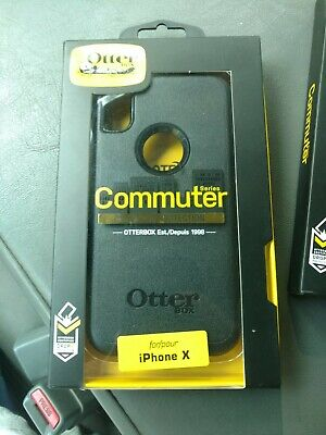 OtterBox Commuter Series Case for iPhone Xs & iPhone X - Black