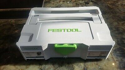 Festool SYS 2 TL Systainer T-LOC Empty Carry Case