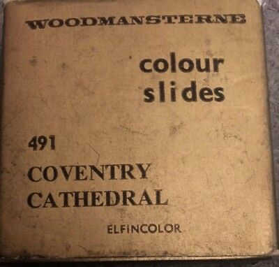 Colour Slides Woodmansterne 491 Coventry Cathedral 8 Pictures Boxed