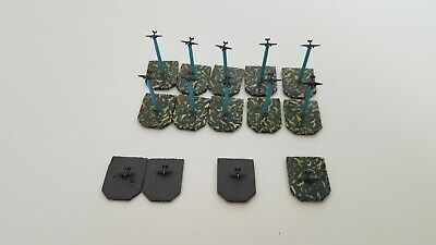 GHQ American WW2 B-25 Bombers 13 Miniatures 1//2400 Scale Painted tbj