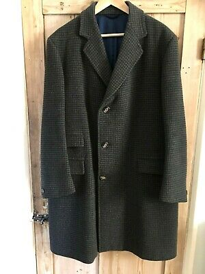 "Vintage Wool Crombie Coat by Hepworths ... 40"" C"