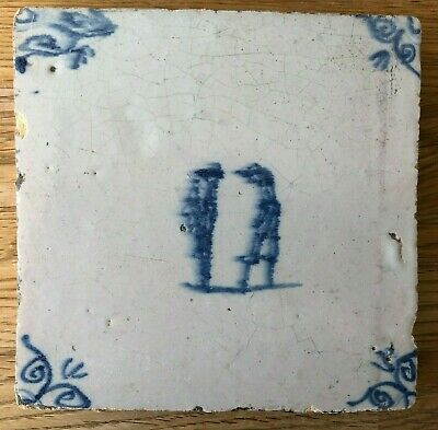 Antique Delft Tile - 17th century