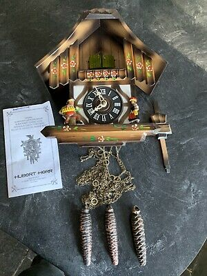 Hubert Herr German Black Forest Cuckoo Clock - For Parts / Restoration