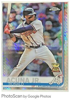 2019 TOPPS Chrome PRISM REFRACTOR PARALLEL SP YOU PICK / SINGLES