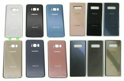 Battery Housing Glass Panel Rear Back Door For Samsung Galaxy note 8 S8+Plus OEM
